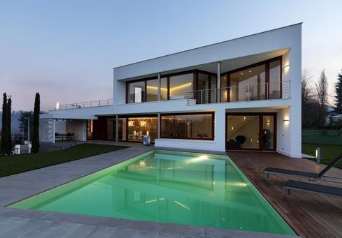 проект дома в стиле минимализм
