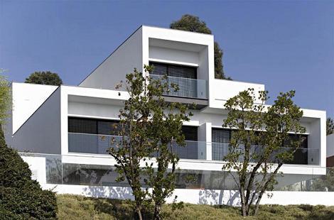 одноэтажные дома в стиле минимализм