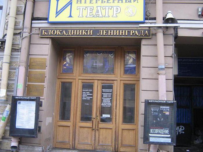 театр интерьерный