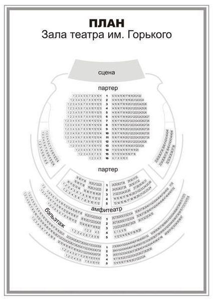 Мхат им чехова схема зала необходимые формы Минск театр имени горького схема зала