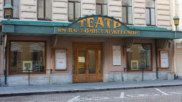 Театр комиссаржевской санкт петербург официальный сайт