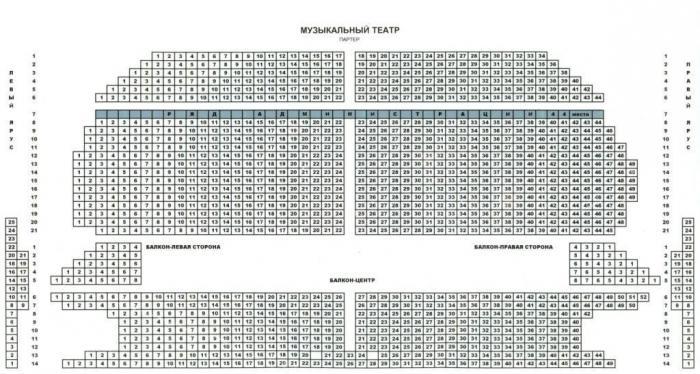 схема музыкального театра