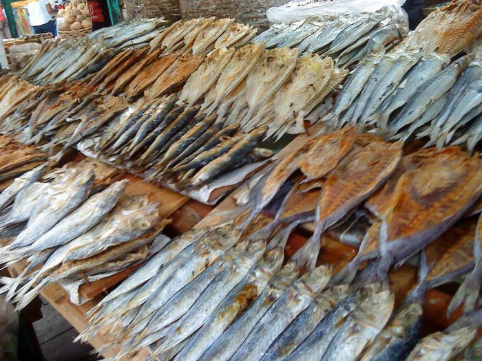 соление рыбы для сушки