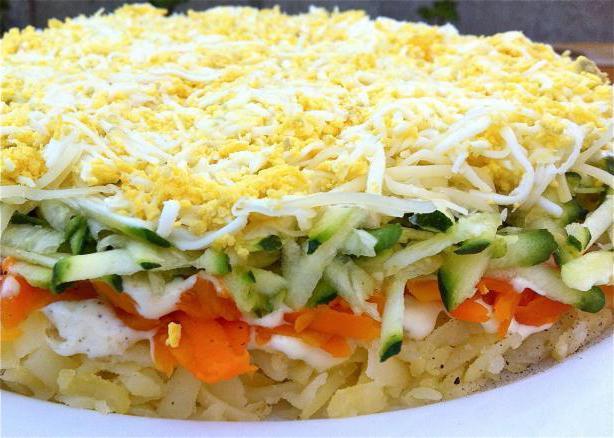 Простые овощные салаты на праздничный стол рецепты