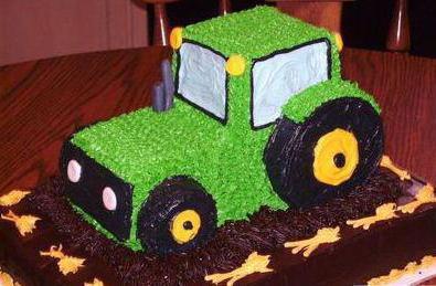 торт трактор из крема фото расходные материалы были