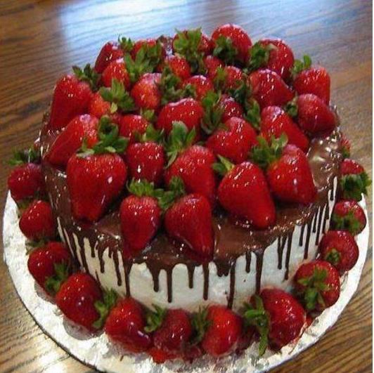красивый торт на юбилей женщине 55 лет