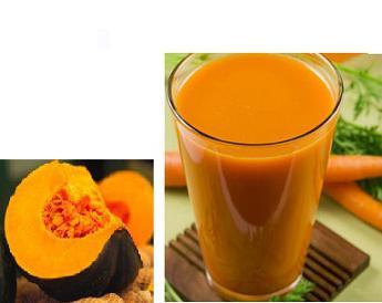 как сделать тыквенно морковный сок