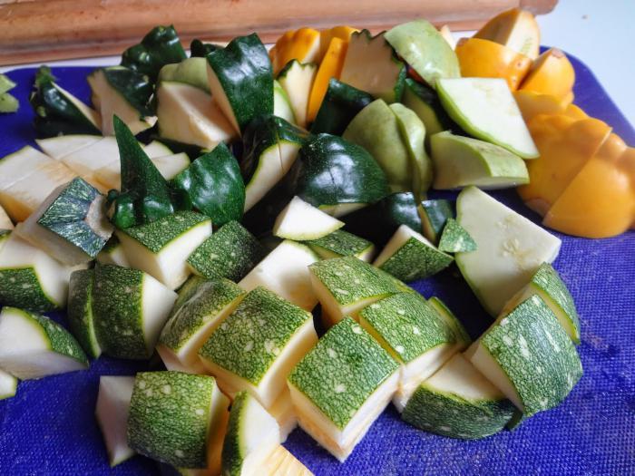 рецепты засолка кабачков