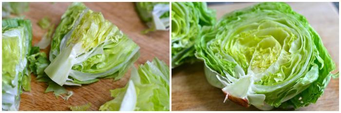 листья салата айсберг