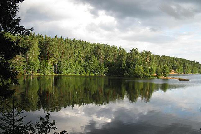 большое симагинское озеро