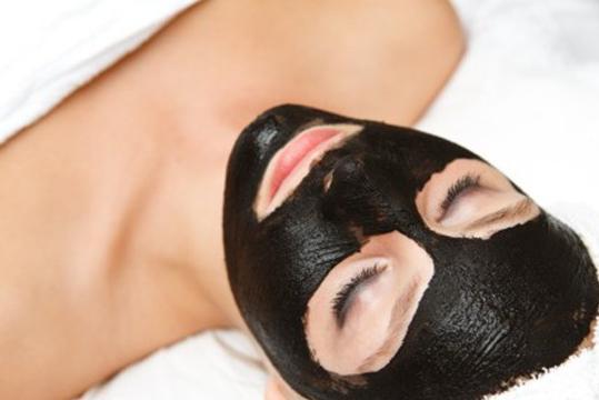 маска для лица уголь желатин