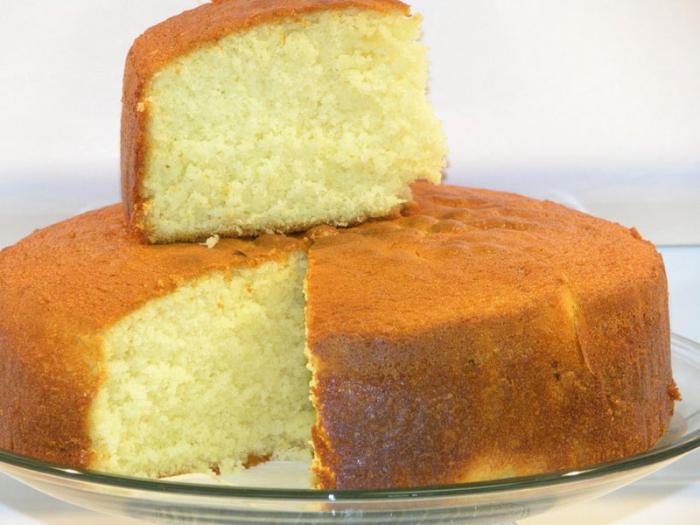 фото рецепт простой бисквит с