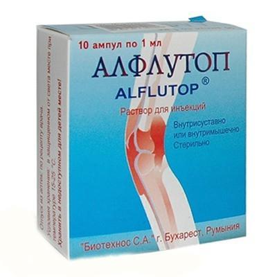 Препарат «Алфлутоп»показання до застосування