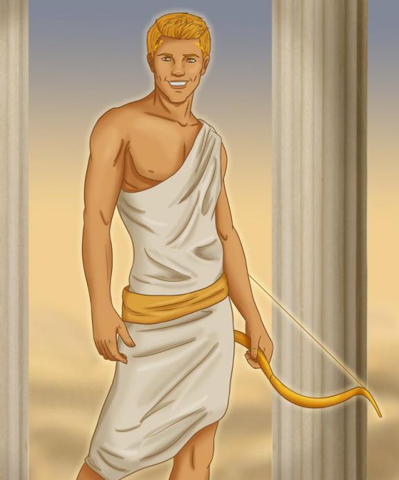 Картинки греческих богов аполлон