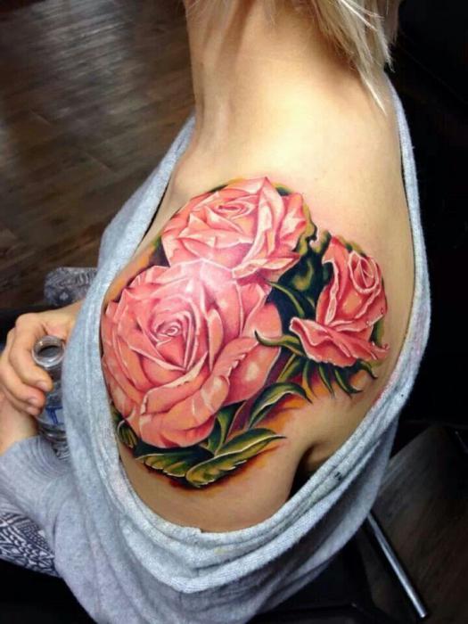 татуировки цветы значение