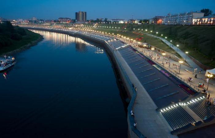 Город и река в Тюменской области
