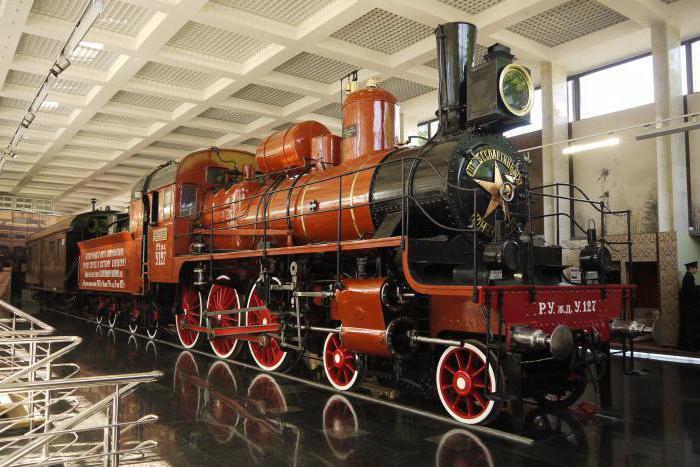 Музей Октябрьской железной дороги в Санкт-Петербурге