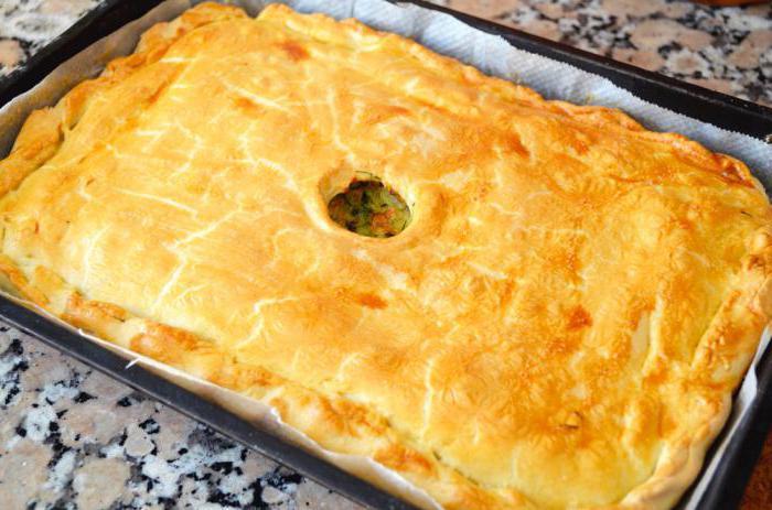 Пирог с капустой рецепт пошагово в духовке на сухих дрожжах