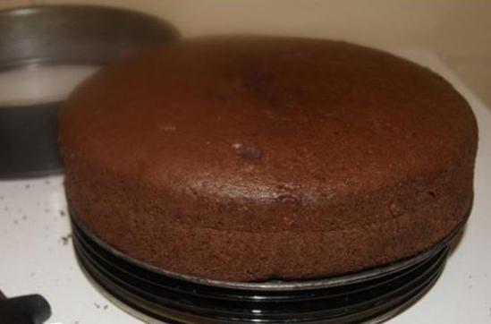 торт суфле с творогом и вишней рецепт