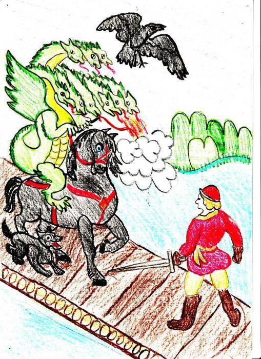 Иван и чудо-юдо рисунок