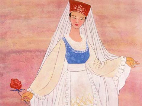 народный татарский костюм фото