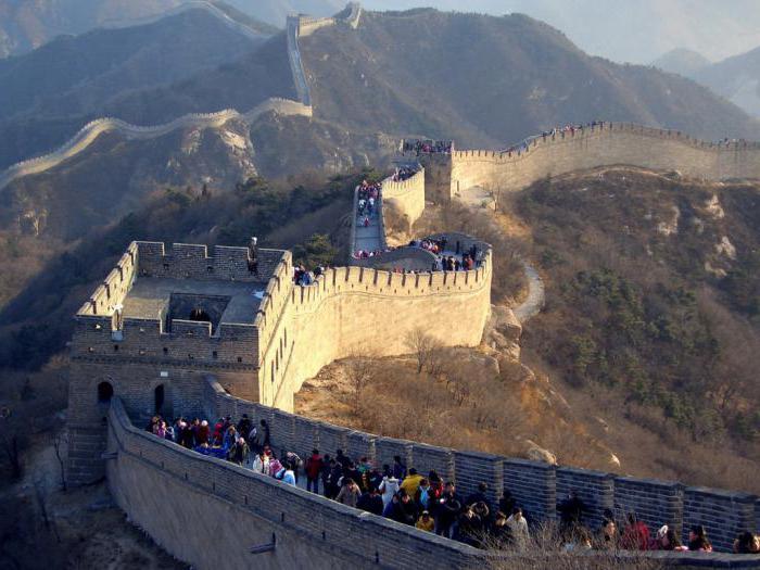 Величавая Китайская стенка: достойные внимания факты и история…
