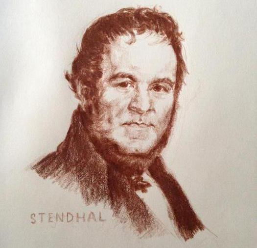 стендаль биография и творчество