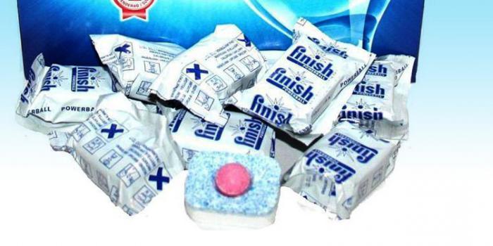 Финиш - таблетки для посудомоечных машин