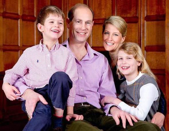 член британской королевской семьи