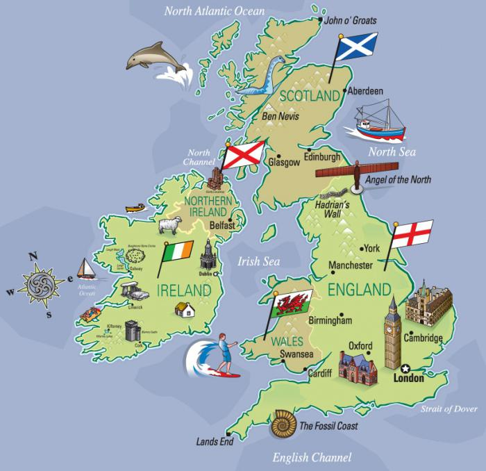 Величавая Британия: фото, история, флаг, празднички, городка…