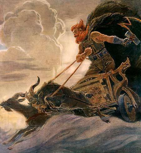 тор скандинавская мифология