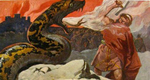 мифология тор бог