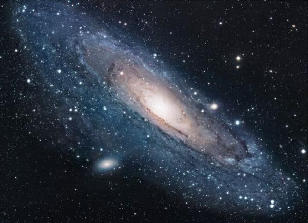галактика вид сверху