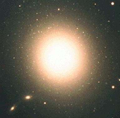 основные виды галактик