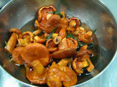 Грибы соленые: рецепт приготовления на зиму