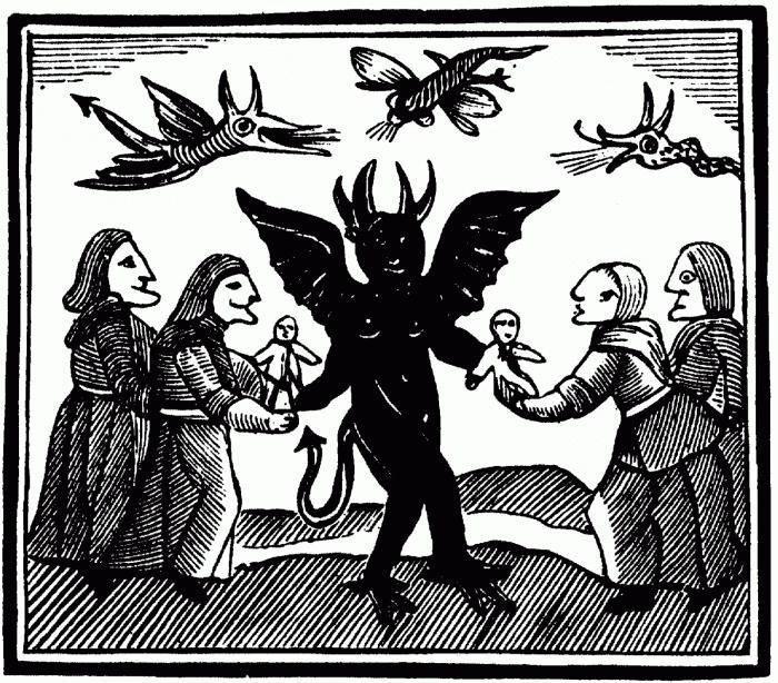 Таинственный обряд вызвал демона секса