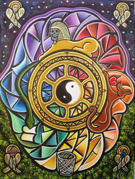 Колесо Фортуны (Таро) - значение и толкование