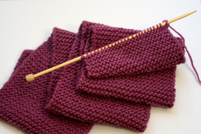 виды вязания шарфов спицами