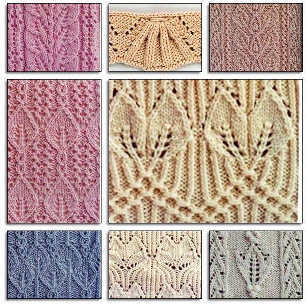 виды вязания спицами фото
