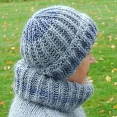 шапка польской резинкой