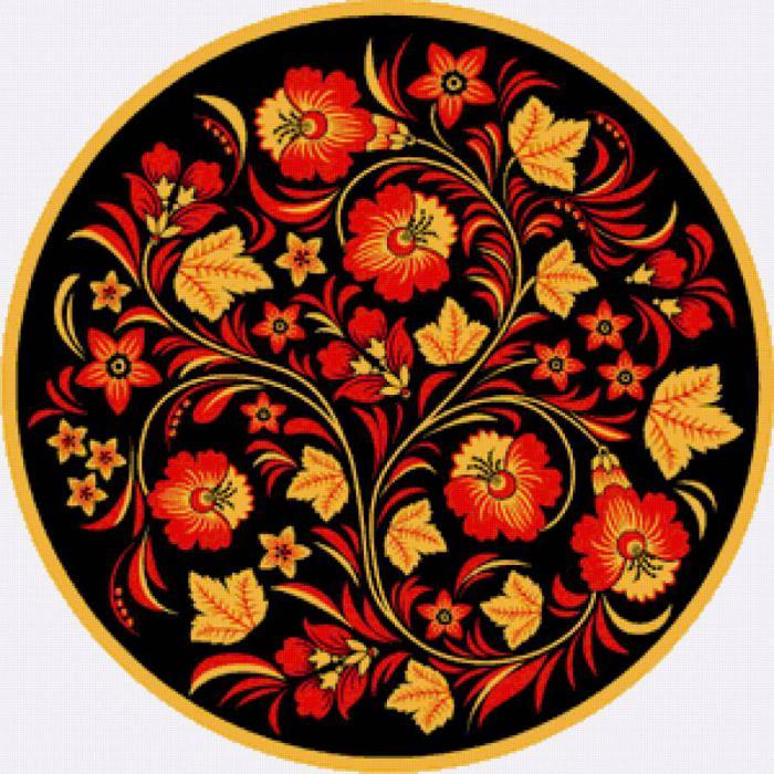 украинский орнамент рисунки