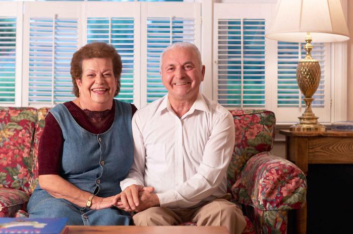 Пенсионеры занимаются сексом дома