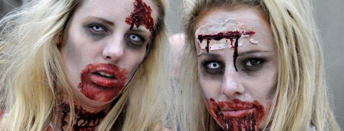 ходячие мертвецы грим зомби