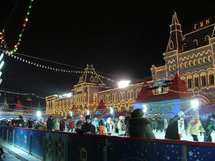 Как встретить Новый год на Красной площади