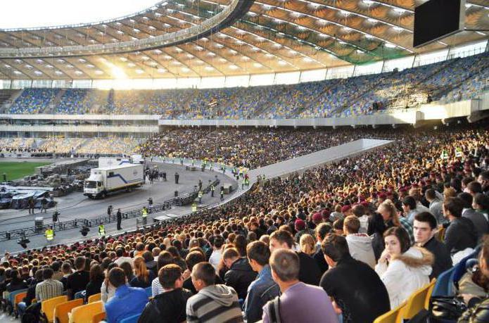ск олимпийский москва схема зала