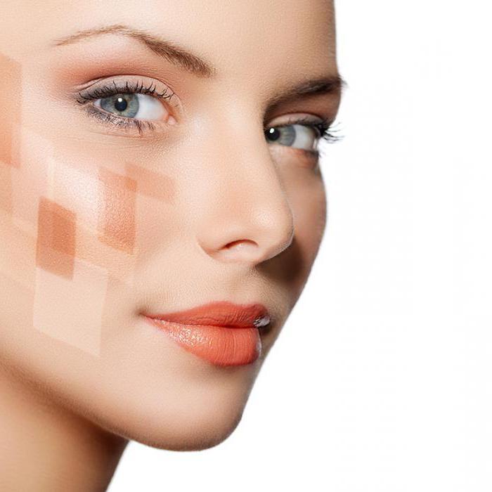 оливковая кожа