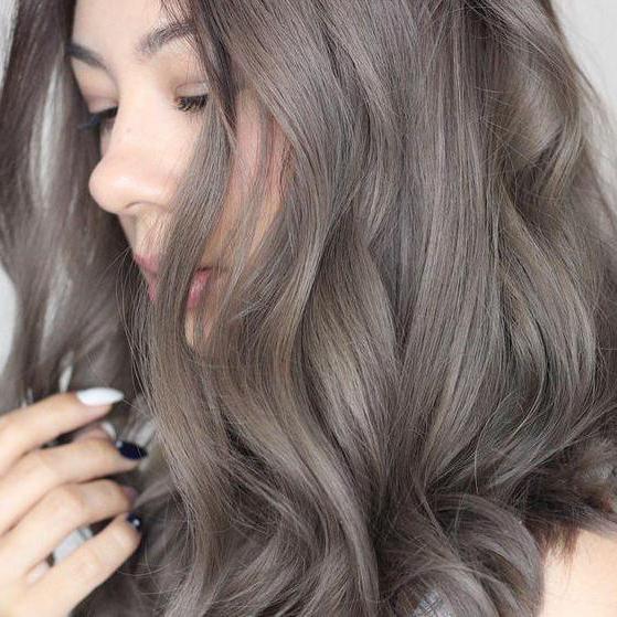 как придать волосам пепельный оттенок