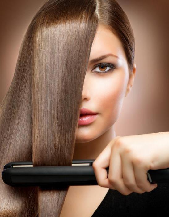 Выпрямлять волосы при какой температуре