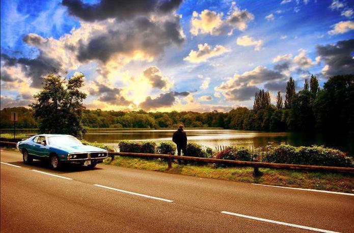 история знакомства в машине