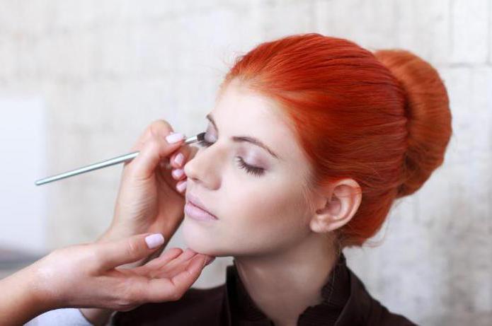 макияж для рыжеволосых с серыми глазами